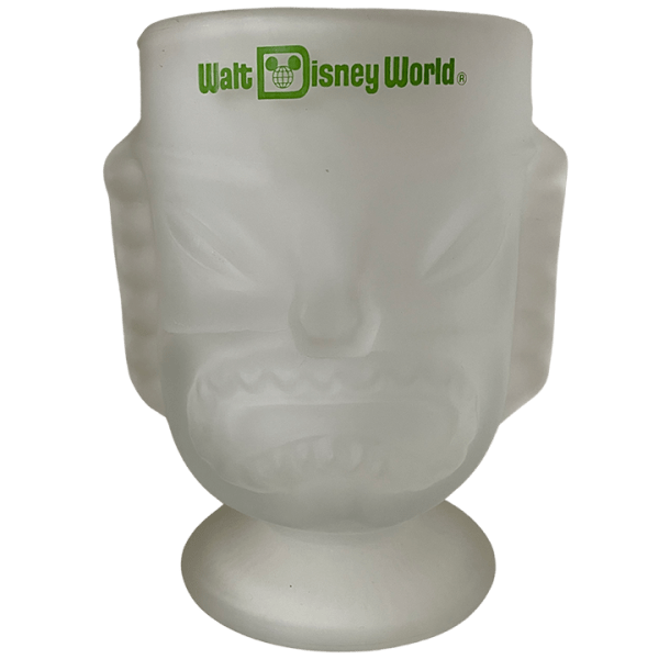 Back - Tall Two-Faced Glass Tiki - Disney's Polynesian Village Resort - Open Edition