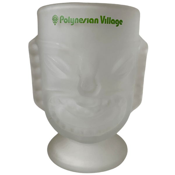 Front - Tall Two-Faced Glass Tiki - Disney's Polynesian Village Resort - Open Edition