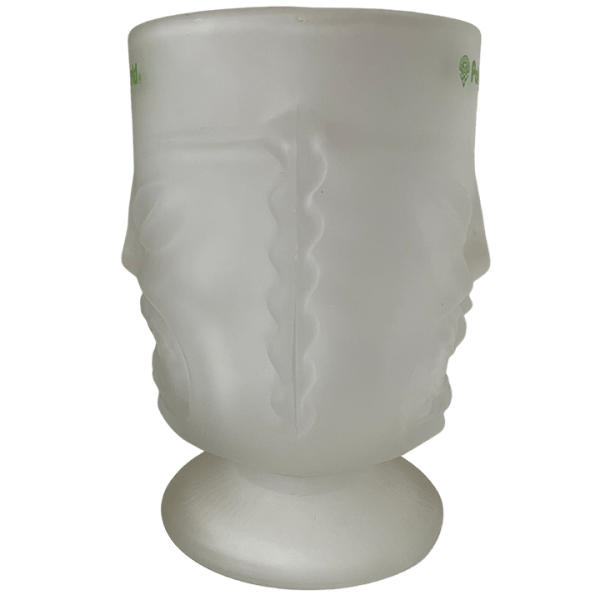 Side - Tall Two-Faced Glass Tiki - Disney's Polynesian Village Resort - Open Edition