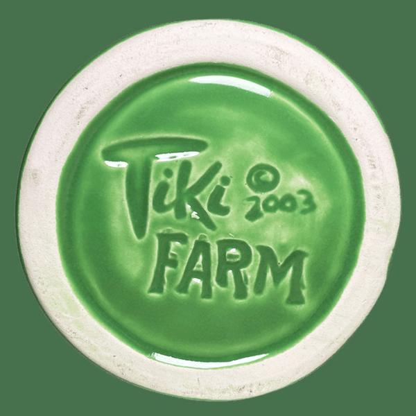 Bottom of Mondo Tiki Mug - SHAG - Green Edition