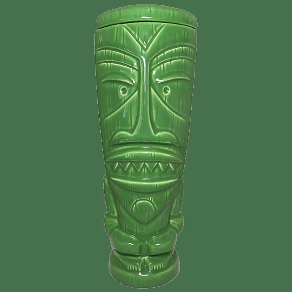 Front of Mondo Tiki Mug - SHAG - Green Edition