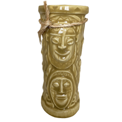 Front - Chanting Tiki Mug - Disneyland - Yellow Edition