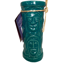 Front of Chanting Tiki Mug - Disneyland - Teal Edition