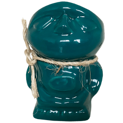 Front of Teeny Tiki Mug - Disneyland - Teal Edition