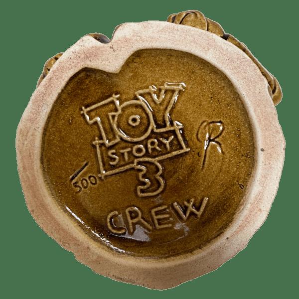 Bottom of Toy Story 3 Tiki BuzzWoody - Pixar Animation Studios - Cast Member Exclusive Edition