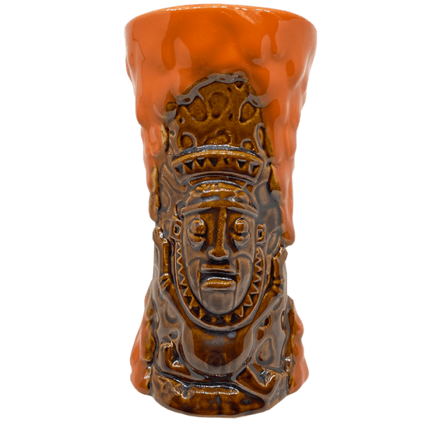 Back of Krakatoa - Trader Sam's Enchanted Tiki Bar - 1st Edition