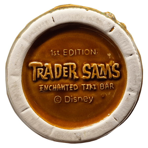 Bottom of Rum Barrel - Trader Sam's Enchanted Tiki Bar - 1st Edition Version 2