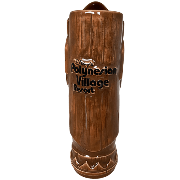 Back - Tall Tiki Mug - Disney's Polynesian Village Resort - 1st Edition