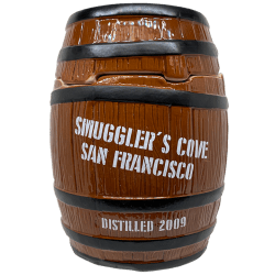 Front of Rum Barrel - Smuggler's Cove - 1st Edition
