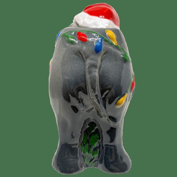 Back of Holiday Elephant - Trader Sam's Enchanted Tiki Bar - 1st Edition