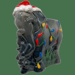 Front of Holiday Elephant - Trader Sam's Enchanted Tiki Bar - 1st Edition