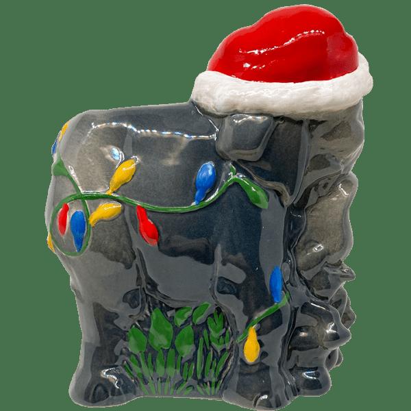 Side of Holiday Elephant - Trader Sam's Enchanted Tiki Bar - 1st Edition