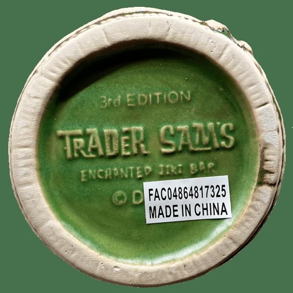 Bottom of Rum Barrel - Trader Sam's Enchanted Tiki Bar - 3rd Edition