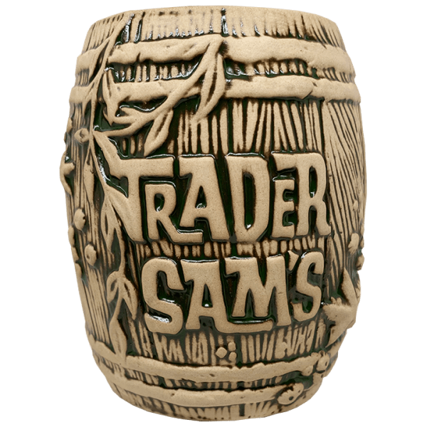 Front of Rum Barrel - Trader Sam's Enchanted Tiki Bar - 3rd Edition