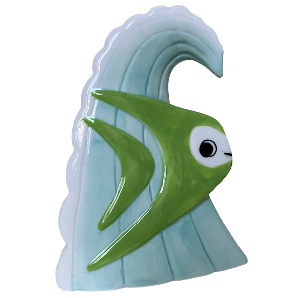 Back - Surf Bob - Munktiki - Green Edition