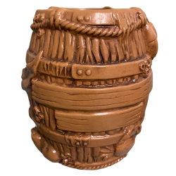 Front - Barrel Mug - Munktiki - Dark Brown Edition