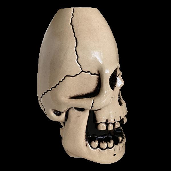 Side - Never Say Die Mutant Skull - Munktiki - White Edition