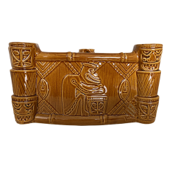 Front - Enchanted Tiki Drummer Bowl - Trader Sam's Enchanted Tiki Bar - 1st Edition