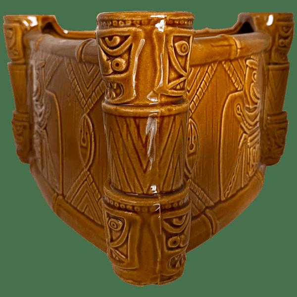 Side of Enchanted Tiki Drummer Bowl - Trader Sam's Enchanted Tiki Bar - 1st Edition