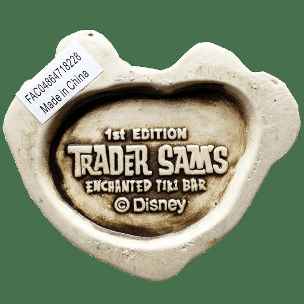 Bottom of Hatbox Ghost - Trader Sam's Enchanted Tiki Bar - 1st Edition