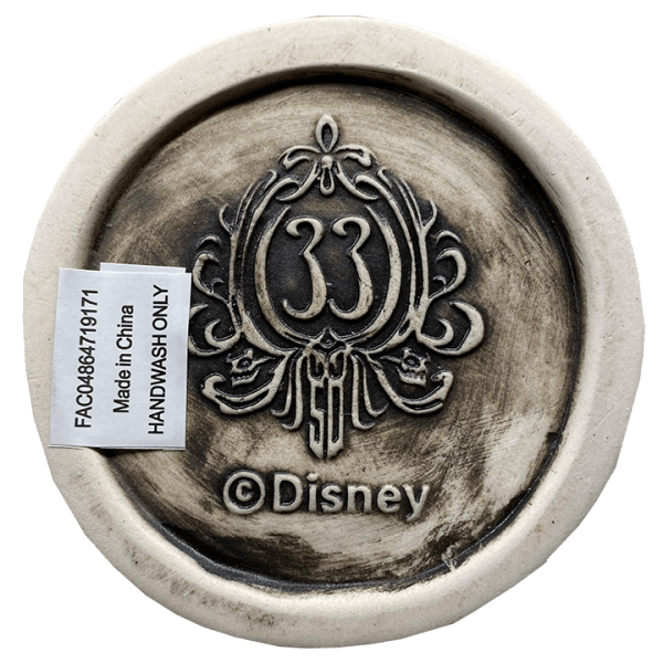 Bottom of Male Haunted Mansion Bust - Club 33