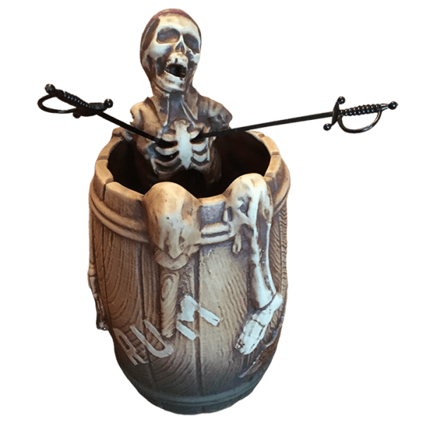Front of Pirate in a Barrel - THOR - Limited Edition