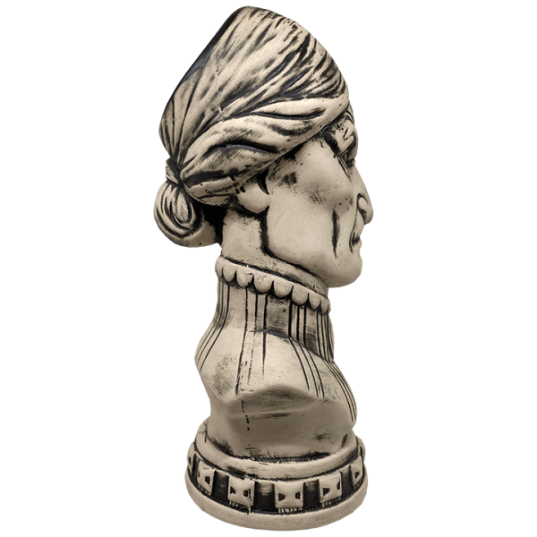 Side of Female Haunted Mansion Bust - Club 33 - 1st Edition