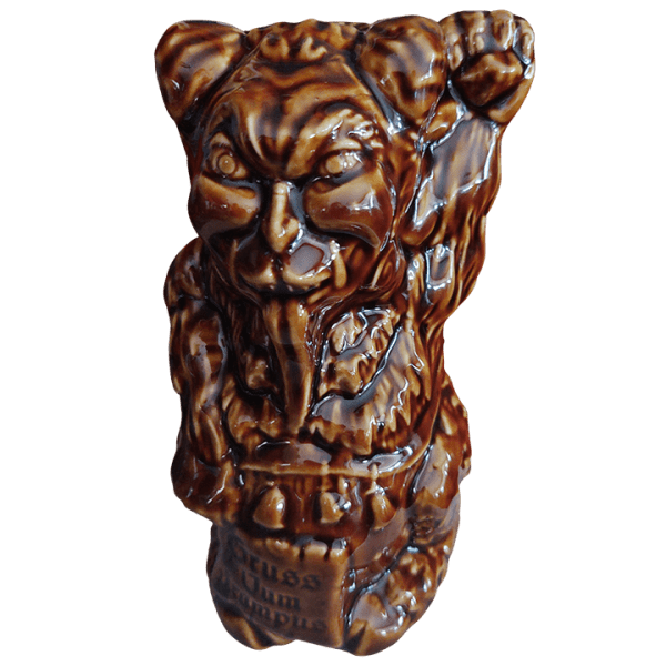 Front - Maneki Krampus - Munktiki - Forest Brown Edition