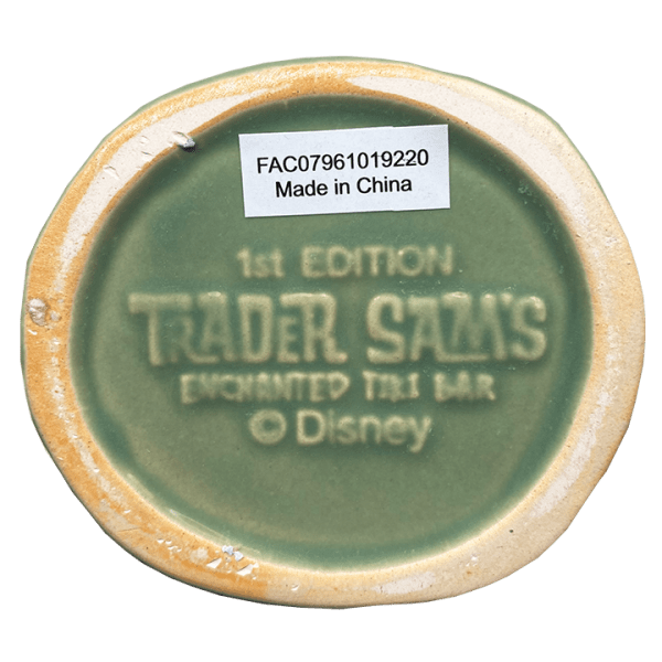 Bottom of Nutcracker - Trader Sam's Enchanted Tiki Bar - 1st Edition