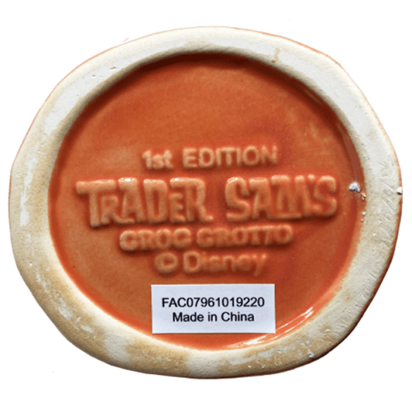 Bottom of Nutcracker - Trader Sam's Grog Grotto - 1st Edition