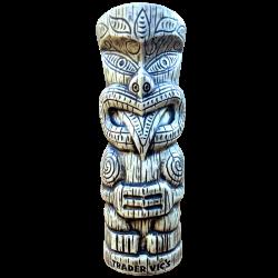 Front of Maori Haka – Trader Vic's – White Edition