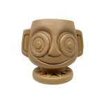 This is the front of the 2nd edition HippopotoMai-Tai tiki mug sold at Trader Sam's Enchanted Tiki Bar located in Anaheim, California.