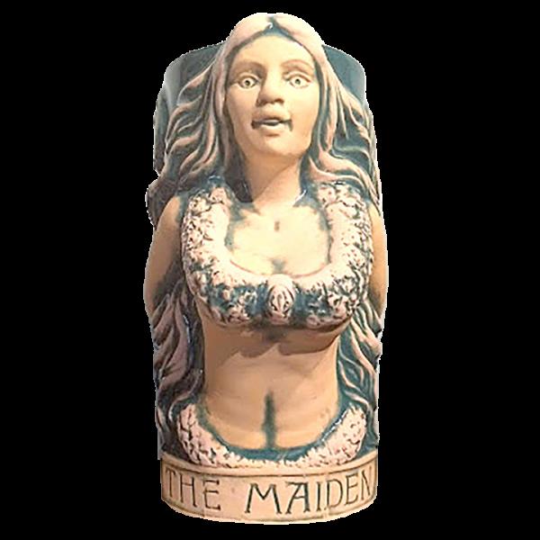 Front of The Mermaid Tarot Series 1 - McMenamins - 1st Edition