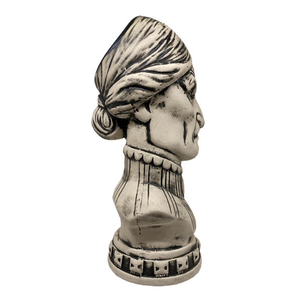 Side - Female Haunted Mansion Bust