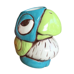 Chirp Chirp - Tiki tOny - Blue and Green Edition