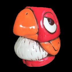 Chirp Chirp - Tiki tOny - Red and Orange Edition