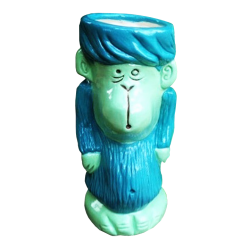 Front - Monkey - Tiki tOny - Blue Edition