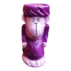 Front - Monkey - Tiki tOny - Purple Edition