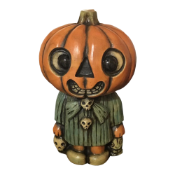 Front - Pumpkin Head Kid - Tiki tOny - 1st Edition