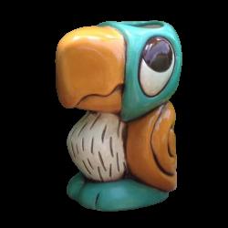 Side - Koko the Parrot - Tiki tOny - Blue and Orange Edition