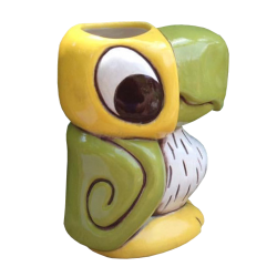 Side - Koko the Parrot - Tiki tOny - Yellow and Green Edition