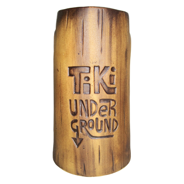 Back - 1st Anniversary Mug - Tiki Underground - Brown Edition