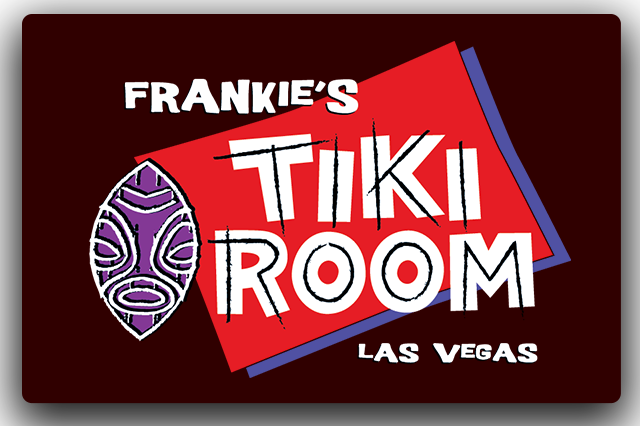 Bar Logo - Frankie's Tiki Room