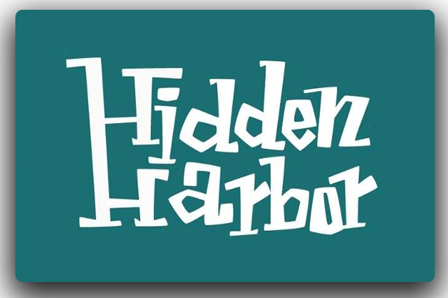 Bar Logo - Hidden Harbor