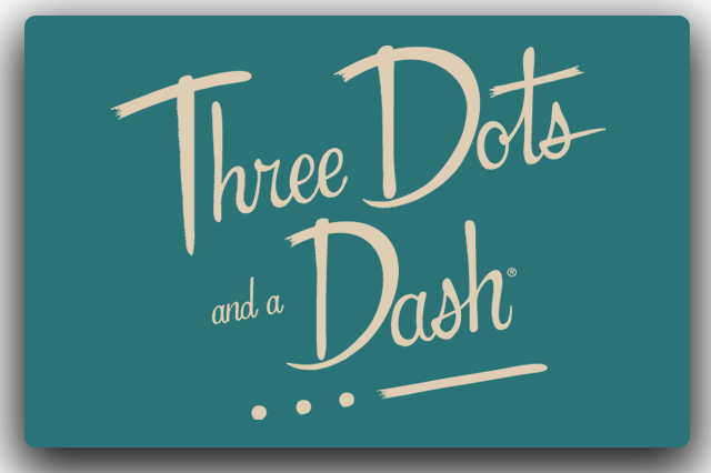 Bar Logo - Three Dots and a Dash