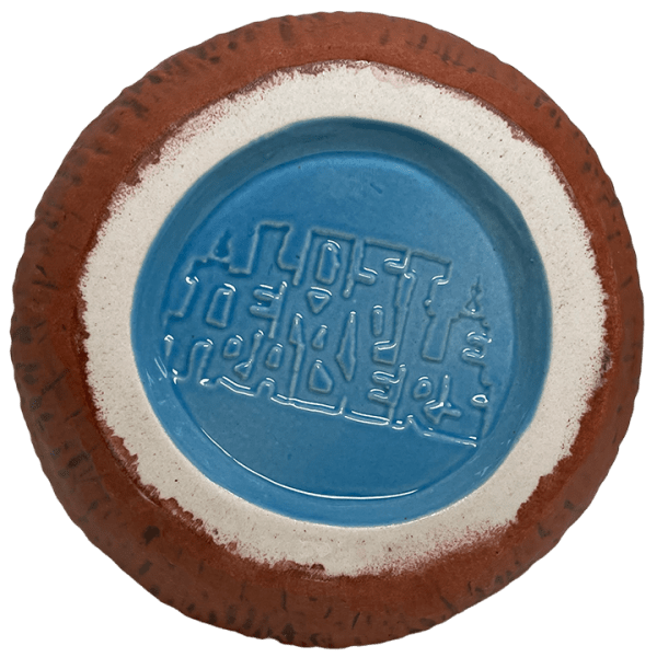Bottom - Mad Tiki Cup - Lost Temple Traders - Brown and Blue Edition