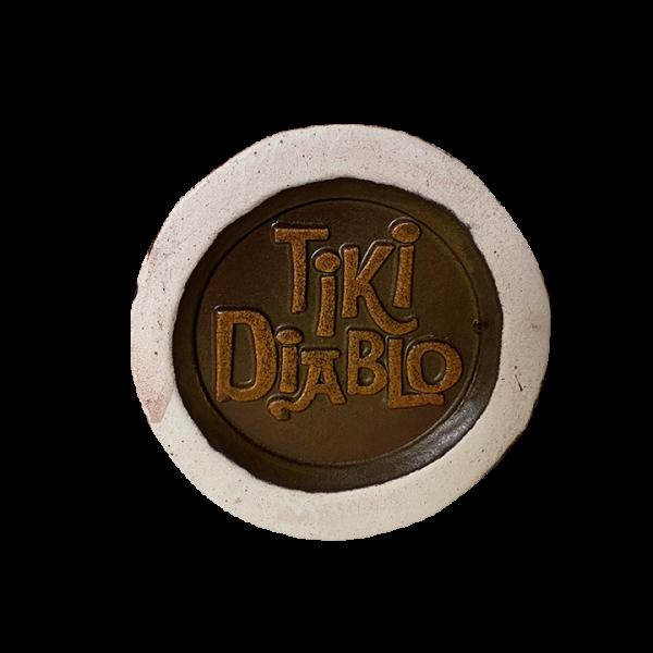 Bottom - Tiki Drum - Original Tiki Market Place - Limited Edition