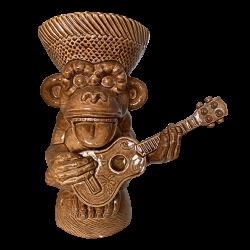 Front - Ape 20 Year Mug - Crazy Al - Coconut Brown Edition