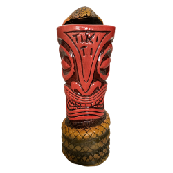 Front - Cobra Snake - Tiki Ti - Red Edition