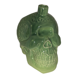 Front - Māori Cyclops Head - The Golden Tiki - Green Edition